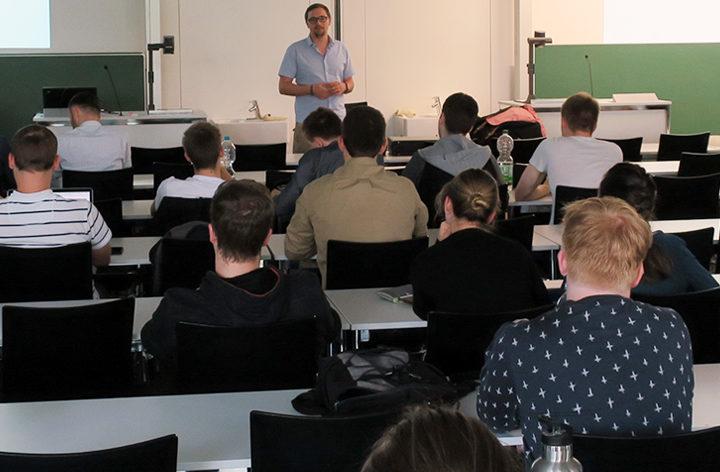 Gründer-Talk am 24.4.2018 an der Hochschule Aalen