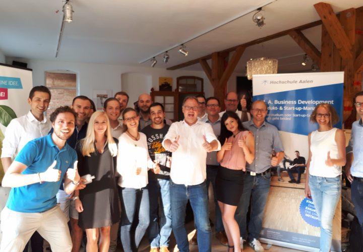 Aalen innovativ – Wo Startups und Geldgeber aufeinandertreffen
