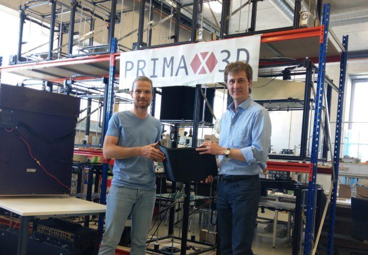 3D-DRUCK³ – PRIMAX 3D WÄCHST EXPONENTIELL