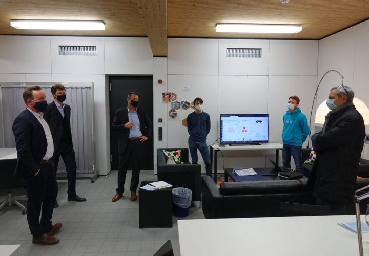 Jüngster Gründer ins Innovationszentrum Aalen aufgenommen