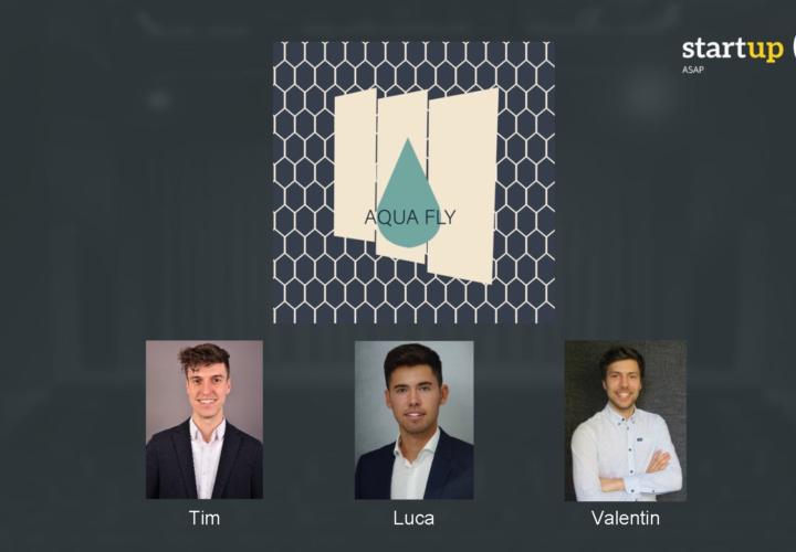 Team AQUA FLY gewinnt den Sustainability Award