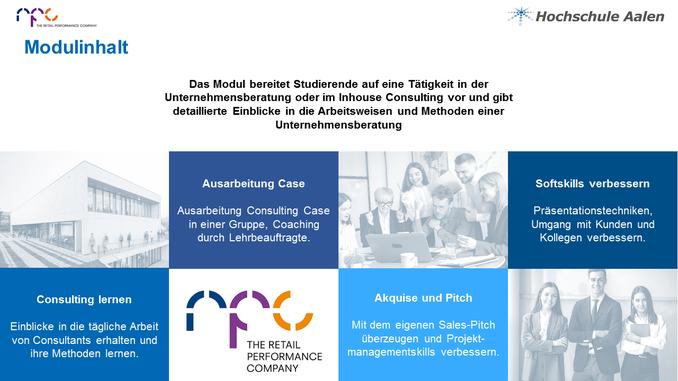 In einem Semester zum Consultant – vielversprechende Kooperation der Hochschule Aalen mit der Unternehmensberatung rpc